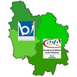 carte région Bourgogne