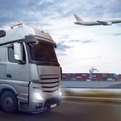 exportation transports (camion, bateau, avion)