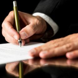 papier indiquant les garanties LMPROCESS